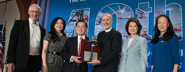 seamen's church chao family