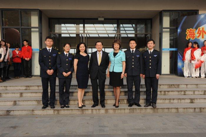 Chao Family at Shanghai Maritime University