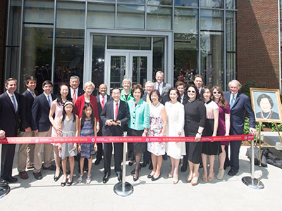 Ruth Mulan Chu Chao Center Opens at Harvard Business School