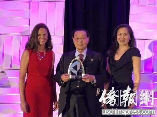 Lloyd's List 2018 Lifetime Achievement Award Presented to Foremost Founder Dr. James S.C. Chao