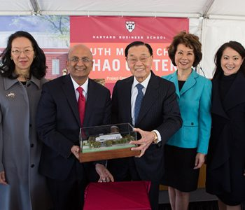 Angela Chao and Family at Groundbreaking 3