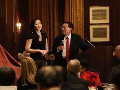 Angela Chao and James S.C. Chao