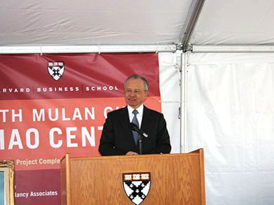 ground-breaking ceremony for the new Ruth Mulan Chu Chao Center
