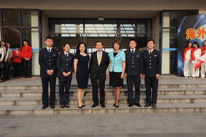 Chao Family at Shanghai Maritime University