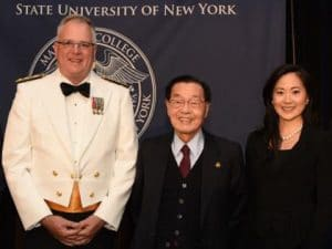 SCHOLARSHIP ESTABLISHED AT SUNY MARITIME COLLEGE